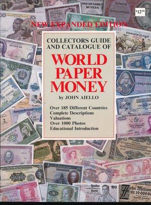 obverse: Aiello J. - World paper money. USA 1987, pp. 184 con descrizione delle banconote, foto in b/n e valutazioni di mercato. Ottimo stato.
