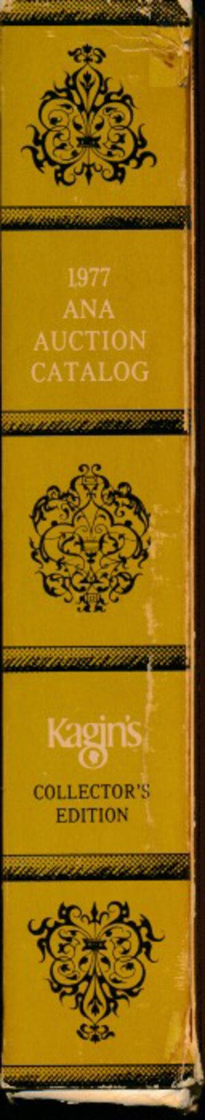 obverse: ANA - Auction catalog 1977. American Numismatic Association 86th annual convention. Cofanetto con 5 cataloghi d asta. Buono stato.