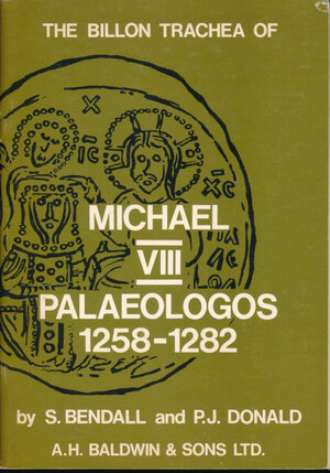obverse: Bendall, Donald - The billion Trachea of Michael VIII Paleologos 1258-1282. Balwins, London, 1974, pp. 47, con cennis torici, descrizione delle monete e disegni in b/n. Ottimo stato
