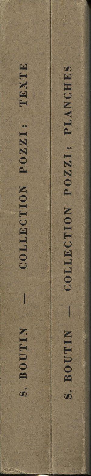 obverse: BOUTIN S. - Catalogue des monnaies greques antiques de l ancienne collection Pozzi. Monnaies frappees en Europe. Maastricht, 1979. N° 2 Voll. <  texte e. planches.> pp. xii + 290, tavv. 202. ril. editoriale, buono stato.