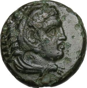 obverse: Ionia, Erythrai. AE 12mm. Ottalos, magistrate circa 4th century BC,