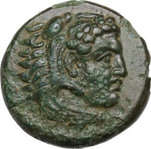 obverse: Ionia, Erythrai. AE 12mm. Dionysiphanes, magistrate, circa 4th century BC,
