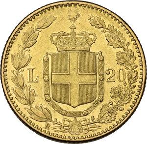 reverse: Umberto I (1878-1900).20 Lire 1888