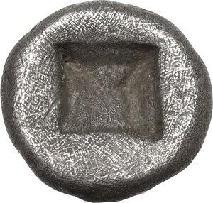 reverse: Ionia, Klazomenai. AR Diobol, c. 499-494 BC