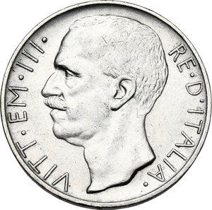 obverse: Vittorio Emanuele III (1900-1943). 10 lire 1929 *