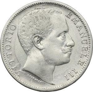 obverse: Vittorio Emanuele III (1900-1943). 2 lire 1902