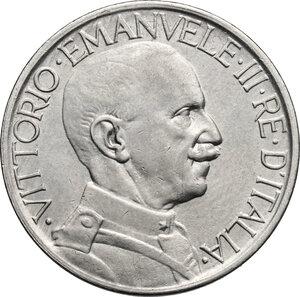 obverse: Vittorio Emanuele III (1900-1943). Buono da 2 lire 1924