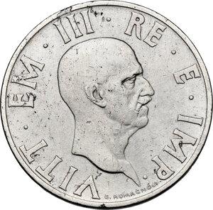 obverse: Vittorio Emanuele III (1900-1943). 2 lire 1936 A. XIV