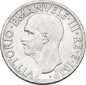 obverse: Vittorio Emanuele III (1900-1943). Lira 1936