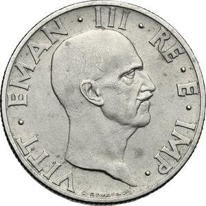 obverse: Vittorio Emanuele III (1900-1943). 50 centesimi 1936