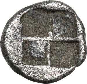 reverse: Ionia, Teos. AR Tetartemorion, c. 460-420 BC