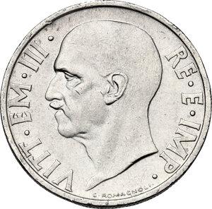 obverse: Vittorio Emanuele III (1900-1943). 20 centesimi 1936