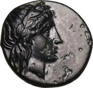 obverse: Caria, Knidos. AE 12mm. c. 250-210 BC. Uncertain magistrate