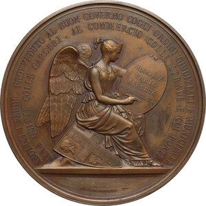 reverse: Carlo Alberto (1798-1849). Medaglia 1831 per l abolizione della feudalità in Sardegna