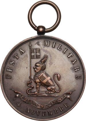obverse: Medaglia 2° Reggimento Granatieri di Sardegna