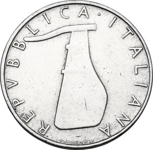 obverse: 5 lire 1956