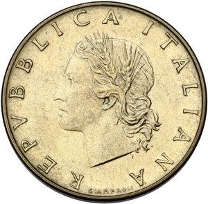obverse: 20 lire 1970 segno di zecca P