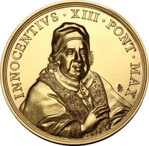 obverse: Innocenzo XIII (1721-1724), Michelangelo Conti. Medaglia 1721