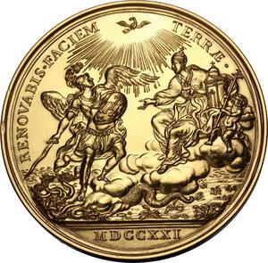 reverse: Innocenzo XIII (1721-1724), Michelangelo Conti. Medaglia 1721