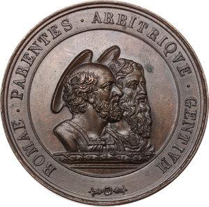 reverse: Pio IX (1846-1878), Giovanni Mastai Ferretti. Medaglia annuale, A. I