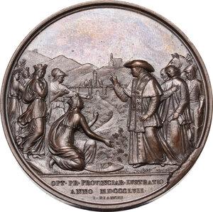 reverse: Pio IX (1846-1878), Giovanni Mastai Ferretti. Medaglia annuale, A. XIII