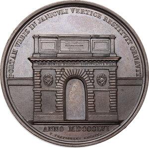 reverse: Pio IX (1846-1878), Giovanni Mastai Ferretti. Medaglia annuale, A. XIV