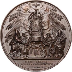 reverse: Pio IX (1846-1878), Giovanni Mastai Ferretti. Medaglia annuale, A. XV