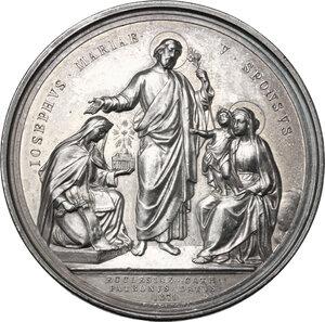 reverse: Pio IX (1846-1878), Giovanni Mastai Ferretti. Medaglia annuale, A. XXXI