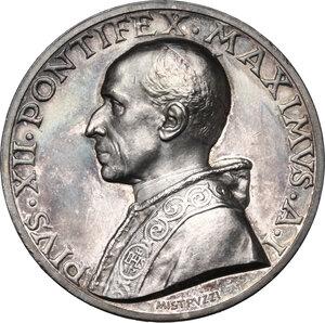 obverse: Pio XII (1938-1959), Eugenio Pacelli.Medaglia annuale A. I