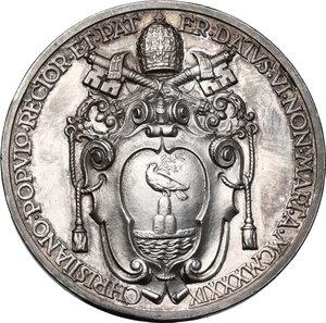 reverse: Pio XII (1938-1959), Eugenio Pacelli.Medaglia annuale A. I