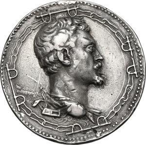 obverse: Andrea Doria (1466-1550), Ammiraglio. Medaglia 1541