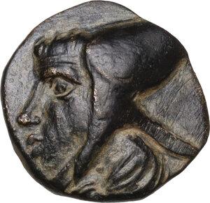 obverse: Kings of Cappadocia. Ariarathes IV, c. 220-163 BC.AE 11mm