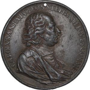 obverse: Carlo Antonio dal Pozzo (1547-1607), giurista. Medaglia s.d. (1604?)