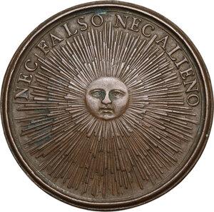 reverse: Cristina di Svezia (1632-1654). Medaglia