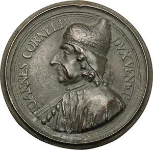 obverse: Giovanni II Corner (1709-1722). Medaglia unifacie fusa tratta dalla medaglia di Giovanni Corner del 1709
