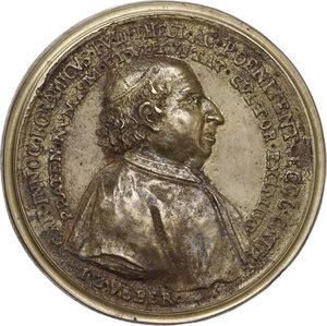 obverse: Innocenzo Buonamici (1691-1775), numismatico.Medaglia 1775 per la morte
