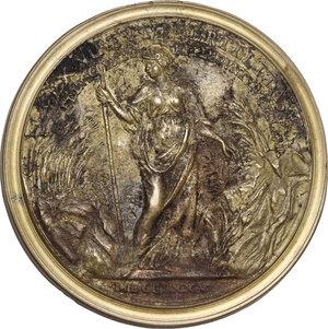 reverse: Innocenzo Buonamici (1691-1775), numismatico.Medaglia 1775 per la morte