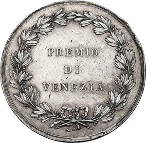 reverse: Regia Accademia di Belle Arti . Medaglia 1803