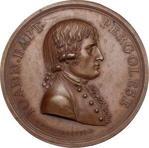 obverse: Giovanni Battista Pergolesi (1710-1736), Compositore. Medaglia 1806