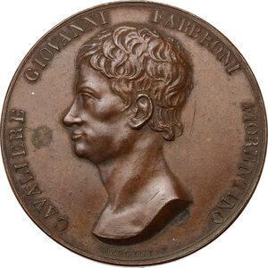 obverse: Giovanni Fabbroni (1752-1822), naturalista.Medaglia 1823