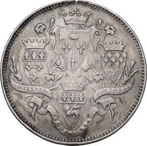 reverse: Giovanna d Arco (1412-1431). Medaglia celebrativa, XIX sec
