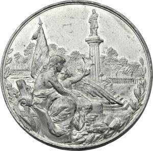 reverse: Giuseppe Mazzini (1805-1872). Medaglia 1882, per l inaugurazione del Monumento a Giuseppe Mazzini a Genova
