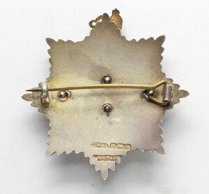 reverse: Massoneria inglese. Royal Masonic Institution for Girls. Spilla 1927