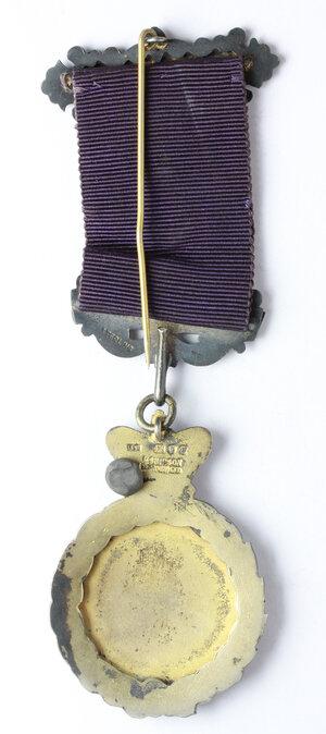 reverse: Massoneria Inglese. Royal Antediluvian Order of Buffaloes. Medaglia con nastrino e fascette Transvaal 9336