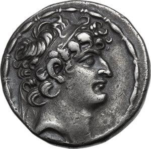 obverse: Syria, Seleucid Kings. Philip I Epiphanes Philadelphos (94-75 BC). AR Tetradrachm, Antioch mint
