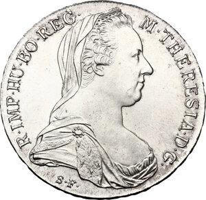obverse: Austria. Maria Theresa (1740-1780).Thaler 1960-1965, Vienna mint