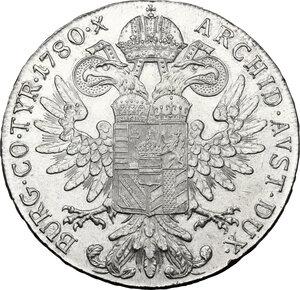 reverse: Austria. Maria Theresa (1740-1780).Thaler 1960-1965, Vienna mint