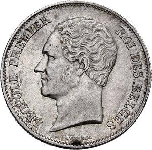 obverse: Belgium. Leopold I (1831-1865).2 1/2 Francs 1849