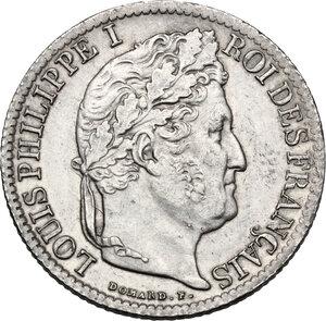 obverse: France. Louis Philippe I (1830-1848). 1/2 Franc 1834