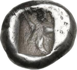 reverse: Persia, Achaemenid Empire. Time of Xerxes II to Artaxerxes II, c. 420-375 BC. AR Quarter Siglos